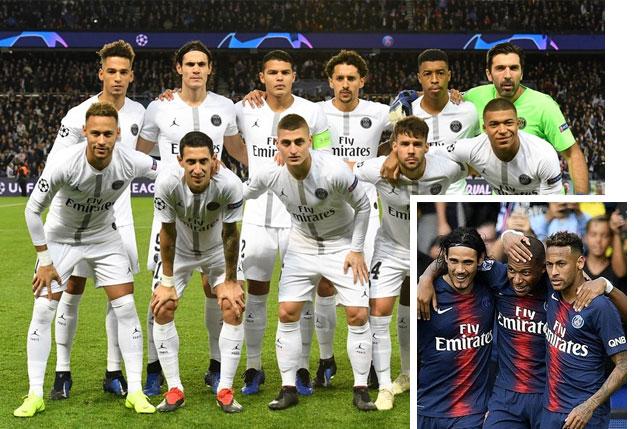 Grandes équipes de football