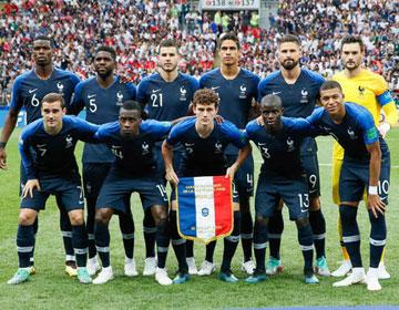 Liste des joueurs de l'équipe de France